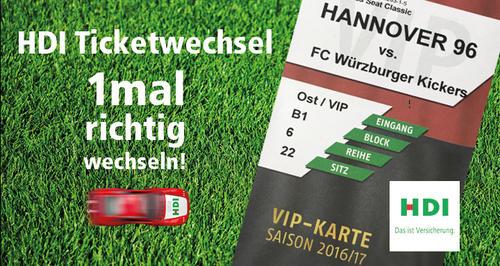 Hannover 96 1mal Richtig Wechseln Fans Konnen Mit Hdi Gewinnen