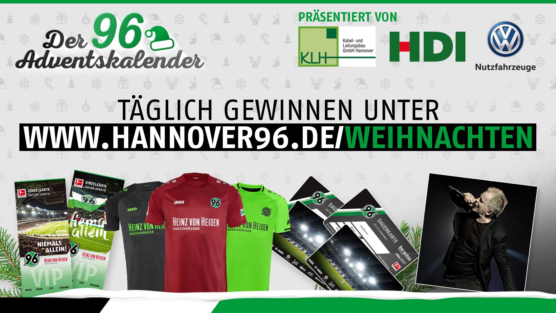 Chip De Weihnachtskalender.Hannover 96 Freut Euch Auf Den Großen 96 Online Adventskalender