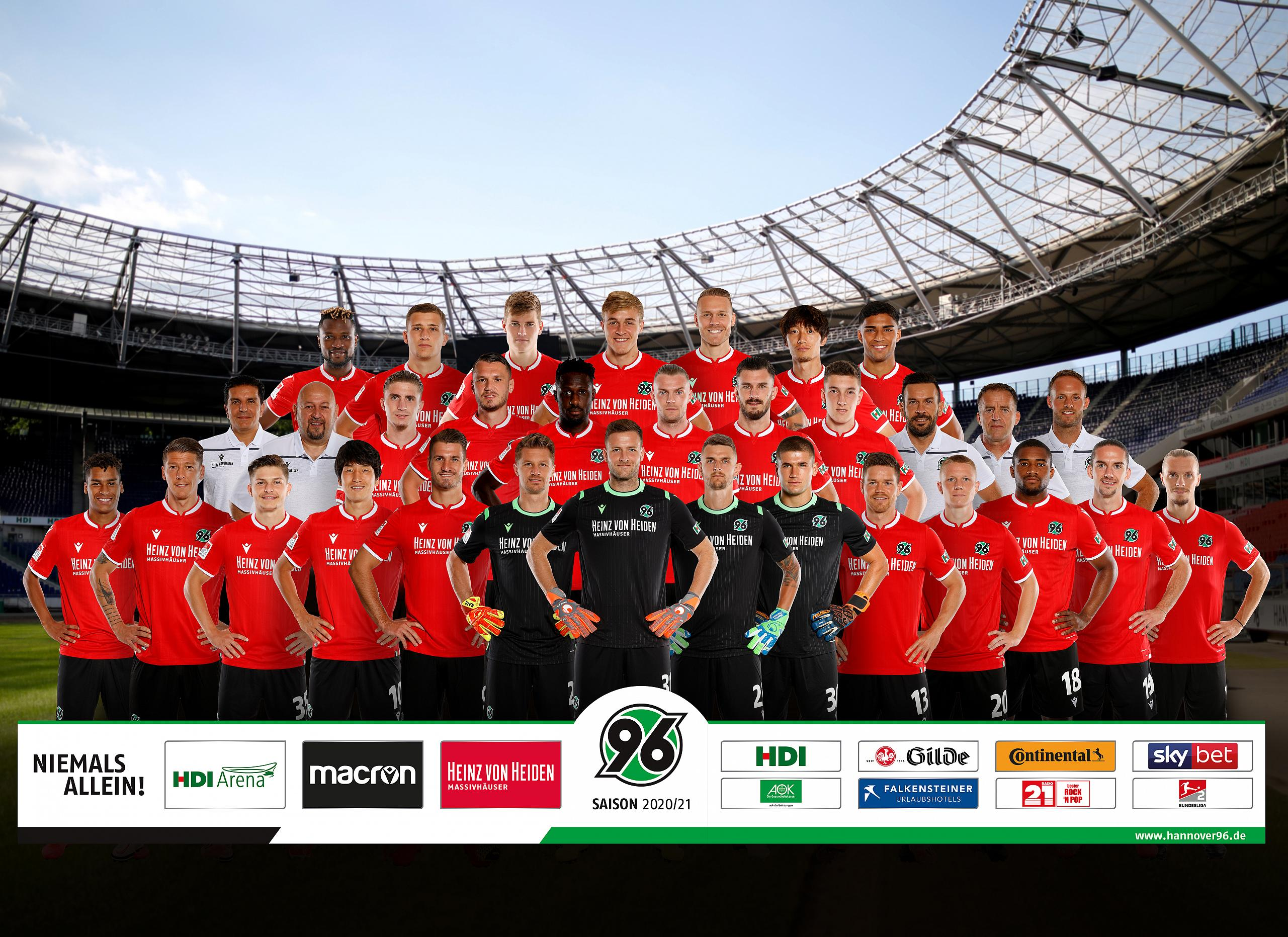 Hannover 96 Kader