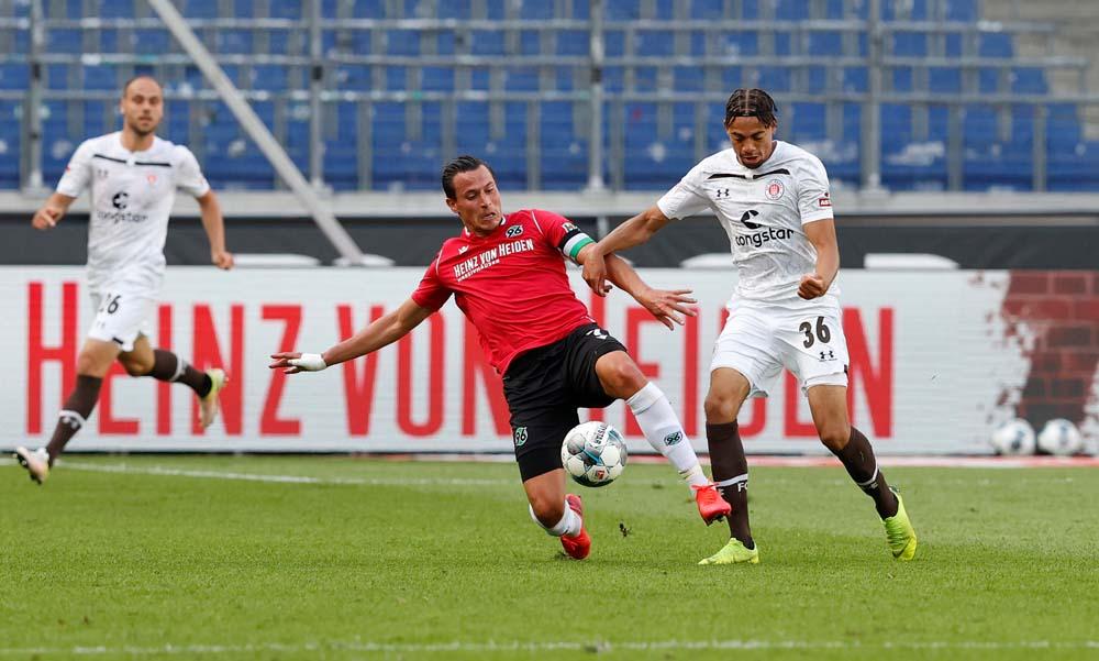 St. Pauli Gegen Hannover 96