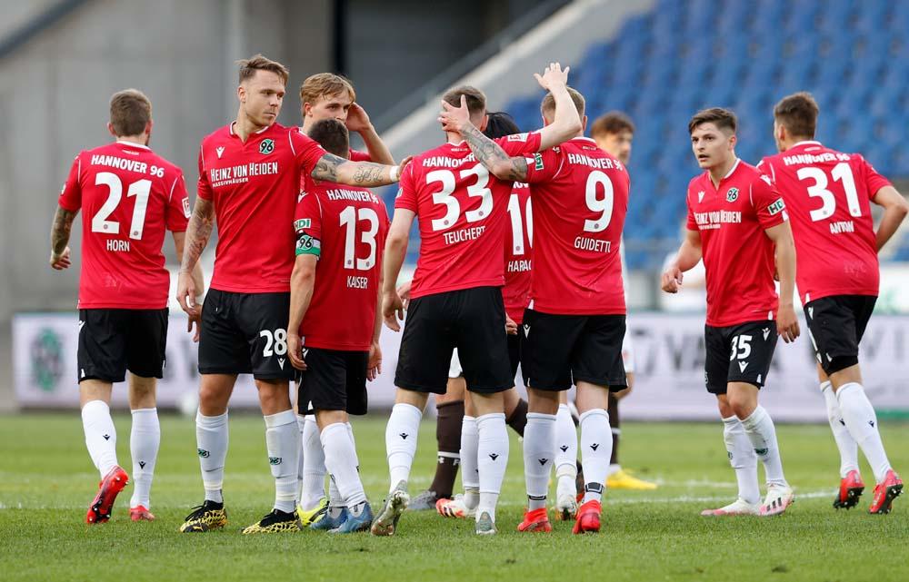 Hannover 96 Gegen St Pauli