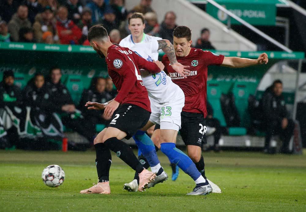 Pokalspiel Bayern Wolfsburg